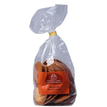Biscuits chocolat/orange - 200g