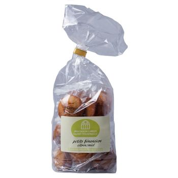 Petits financiers citron/miel - 200g