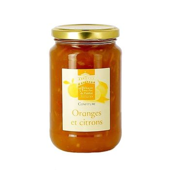 Confiture oranges citrons 430g