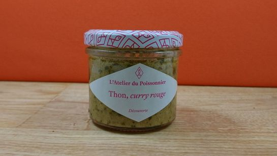 Tartinable de Thon et curry rouge 90g