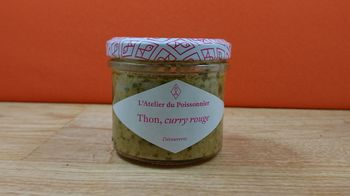 Tartinable de Thon et curry rouge - 90g