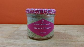 Rillettes de saumon à l'Aneth - 90g