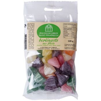 Berlingots aux fruits - 120g