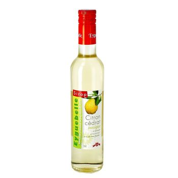 Sirop Citron Cédrat Tonique - 50cl