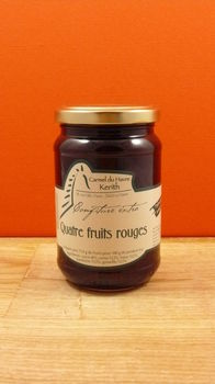 Confiture quatre fruits - 370g