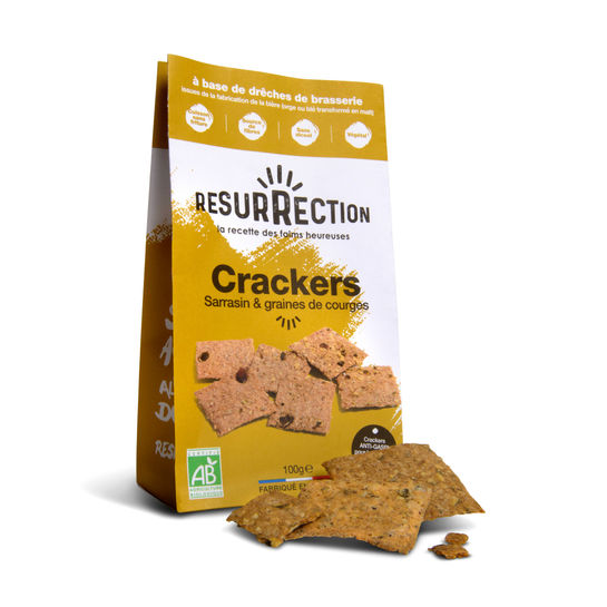 Crackers Sarrasin et graines de tournesol
