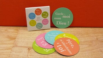 Boite de 6 Magnets multicolores