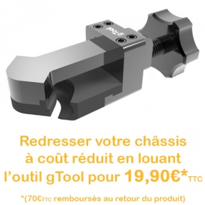 Location outil gTool G1227 pour redresser vos coins d'iPhone 6