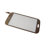 Vitre tactile Or pour Samsung Galaxy Grand Neo Plus