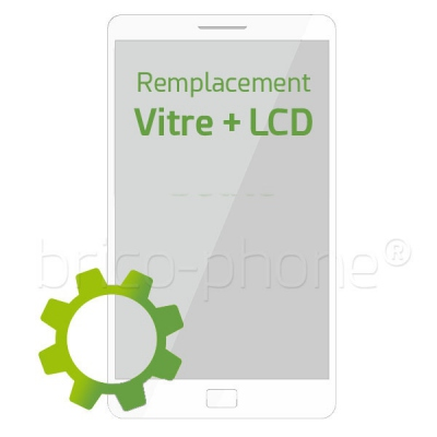 Forfait remplacement Vitre tactile BLANCHE LCD Samsung Galaxy Grand Prime VE