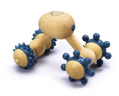 Ensemble de massage Roller traditionnel en bois