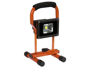 PROJECTEUR DE CHANTIER RECHARGEABLE LED - 10 W - 6500 K