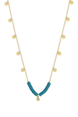 Collier DIVINE turquoise