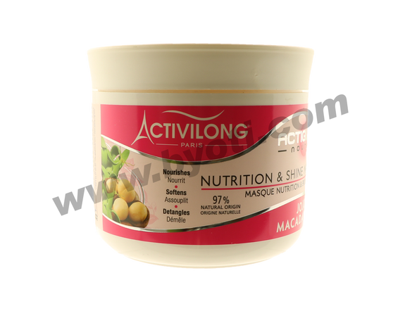 Masque Nutrition & Brillance - Activilong 200ml