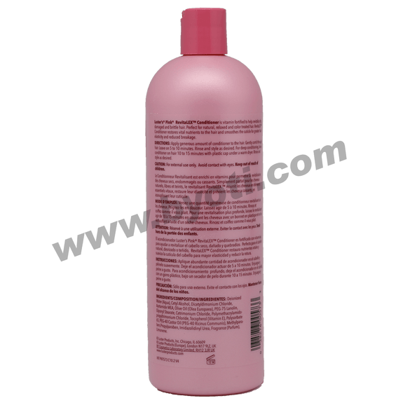 RevitaLEX Conditionneur revitalisant  591ml - Luster's PINK