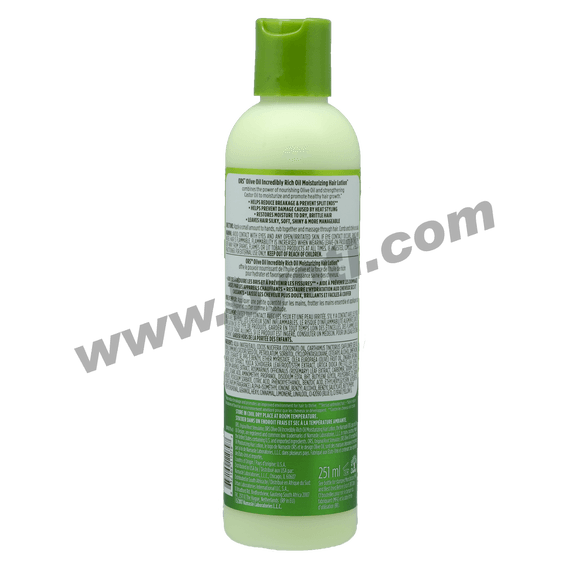 OLIVE OIL Incredibly Rich Oil Mosturizing Hair Lotion Hydratant - ORGANIC ROOT STIMULATOR 251ml