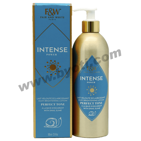 Lait Intense à la BAVE d'ESCARGOT  - Fair & White 500ml