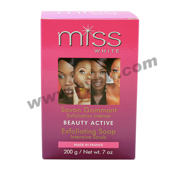 Savon Gommant Beauty Active Miss White - Fair&White 200grs
