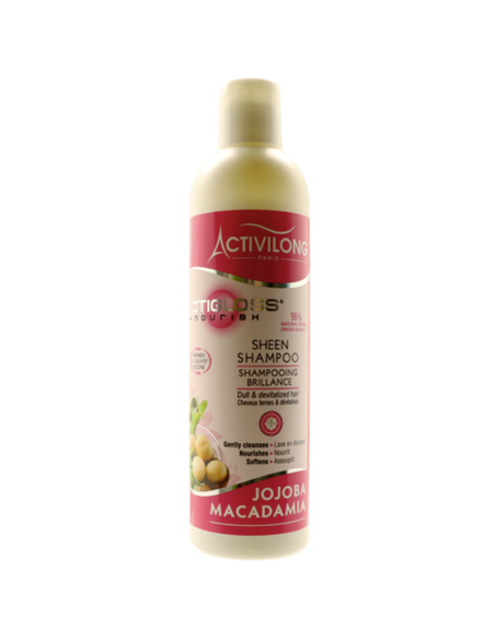 Shampooing Brillance Actigloss Nourish - Activilong 250 ml