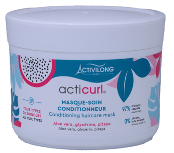 Masque soin conditionneur aloe Vera et Pitaya ACTICURL - Activilong 200ml