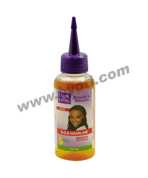 Serum Braids'n Weaves SOS hairline à base d'huile de Jojoba et de menthe- 100ml - Dark & Lovely