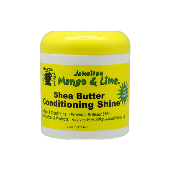 Shea Butter Conditioning Shine, 170g - JAMAICAN MANGO & LIME