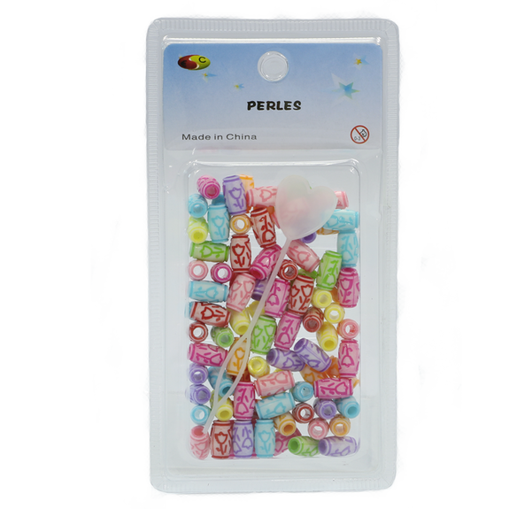 Perles junior de couleurs