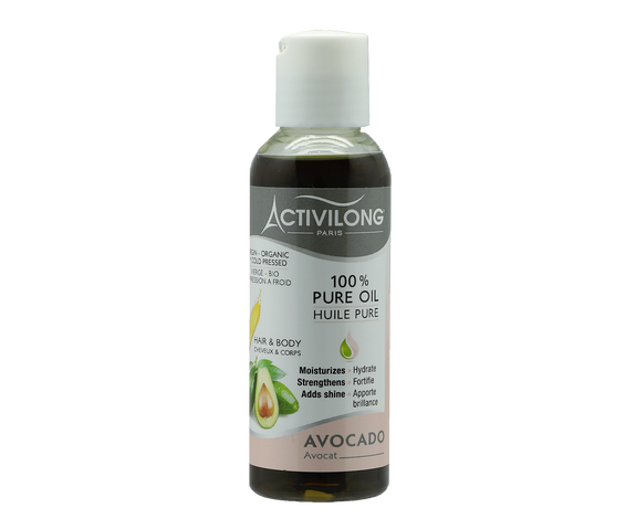 Huile pure Bio à l'avocat - ACTIVILONG 75ml