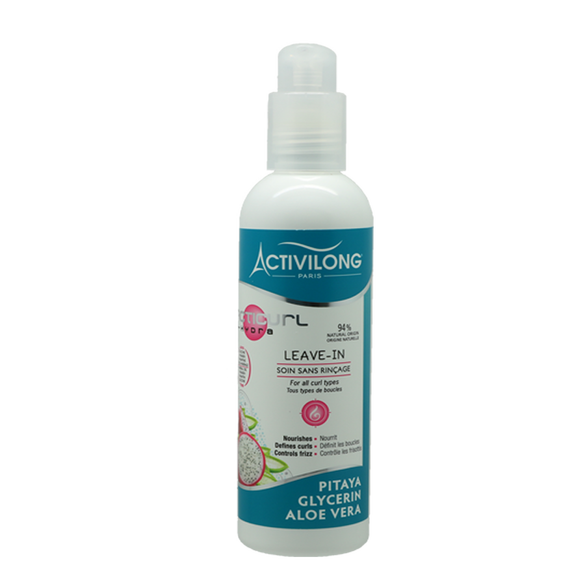 LEAVE IN ACTICURL HYDRA soin sans rinçage - Activilong 240ml