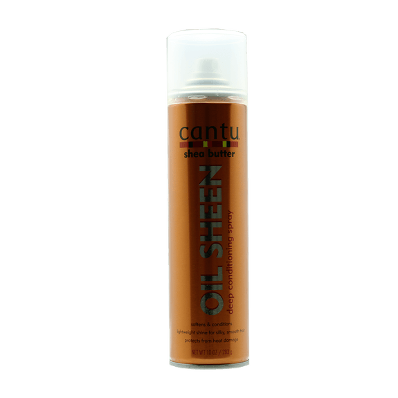 Oil Spray brillance à base beurre de karité et huiles revitalisantes - Shea Butter 283g -  CANTU