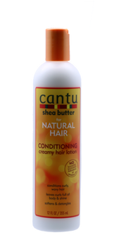 Conditioning Creamy Hair Lotion à base beurre de karité - Natural Hair 355 ml -  CANTU
