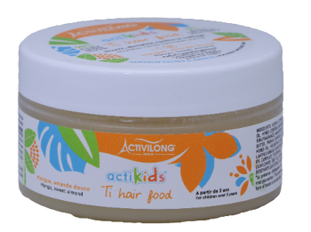 Ti Hair Food Baume Nourrissant à base de mangue et d'amande douce ACTIKIDS - Activilong 100ml
