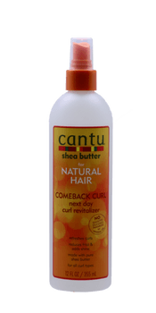 Comeback Curl Next Day Curl Revitalizer à base beurre de karité - Natural Hair 355 ml -  CANTU