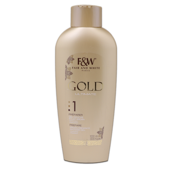 Gel Douche GOLD ULTIMATE 1L - FAIR&WHITE