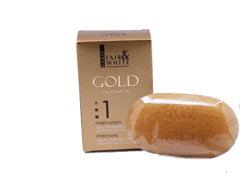 Savon Satin GOLD ULTIMATE 200g - FAIR&WHITE