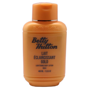 Lait Eclaircissant Hydratant, Nourrissant & Réparateur Gold Betty Hutton