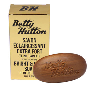 Savon GOLD unifiant, éclaircissant extra fort Betty Hutton 150grs