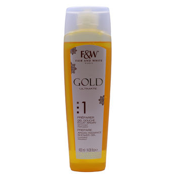 Gel Douche Eclat Argan Gold  - Fair&White 400ml