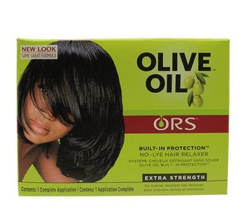 Kit défrisant Olive Oil  extra strength- ORGANIC ROOT Stimulator