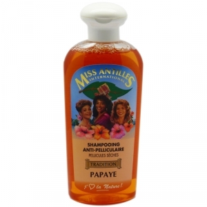 Shampoing PAPAYE anti-pélliculaire  250ml -  Miss Antilles
