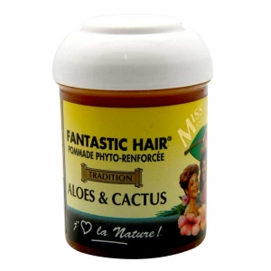 Pommade capillaire FANTASTIC HAIR à base ALOES & CACTUS 125 ml - MISS Antilles