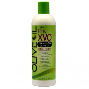 XVO HAIR LOTION XTRA VIRGIN OLIVE OIL  355ml - Luster's PINK Original