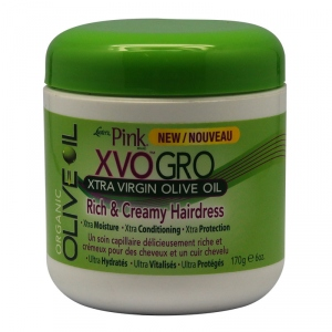 XVO CREAMY HAIRDRESS  XTRA VIRGIN OLIVE OIL  170grs - Luster's PINK Original