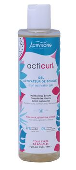 Gel  ACTICURL HYDRA Activateur de boucles  - Activilong 200ml
