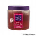Gel de fixation normale Quick Styling Gel 400 ml - Dark & Lovely