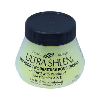 Pommade capillaire jaune HAIR FOOD 64grs ULTRA SHEEN - JOHNSON PRODUCTS