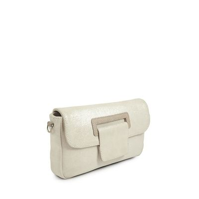 CANNES 29 WHITE CLUTCH BAG