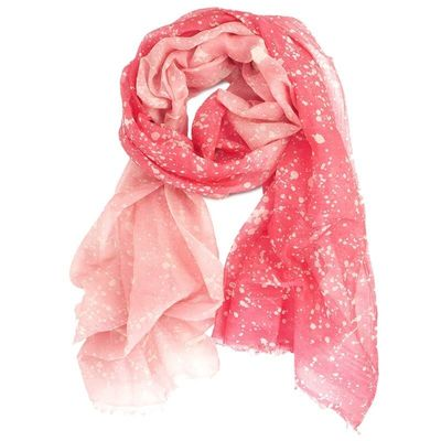 SILK & COTTON  SCARF