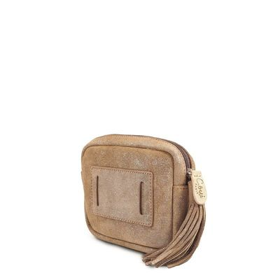 TAUPE BELT LEATHER CASE CANNES 27