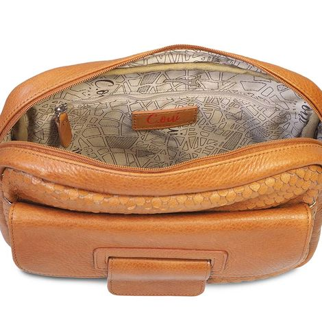 FIRENZE 57 LEATHER REPORTER BAG